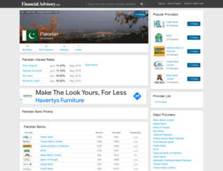 pakistan.deposits.org screenshot