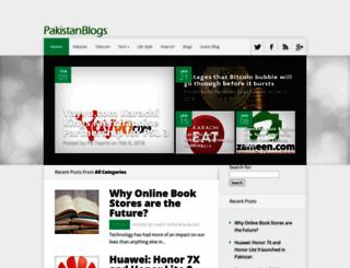 pakistanblogs.com screenshot