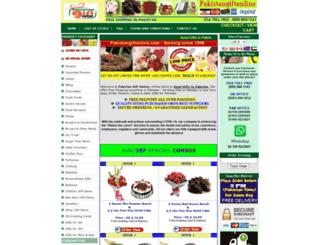 pakistangiftonline.com screenshot