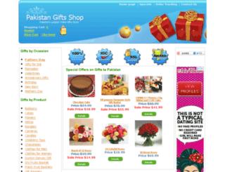 pakistangiftsshop.com screenshot
