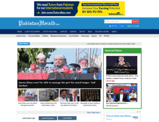 pakistanherald.com screenshot