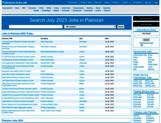 pakistanjobs.pk screenshot