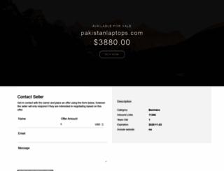 pakistanlaptops.com screenshot