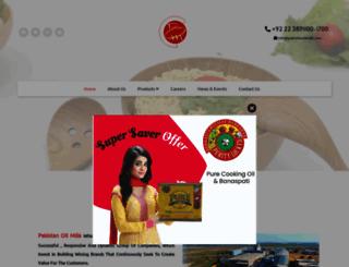 pakistanoilmills.com screenshot