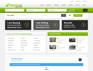 pakistanrealestate.net screenshot