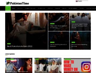 pakistantime.net screenshot