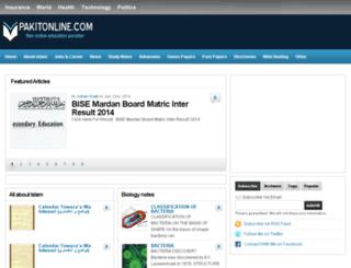 pakitonline.com screenshot