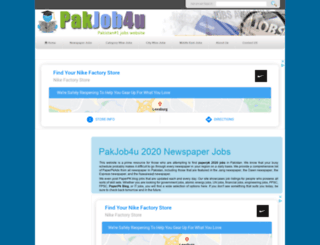 pakjob4u.com screenshot