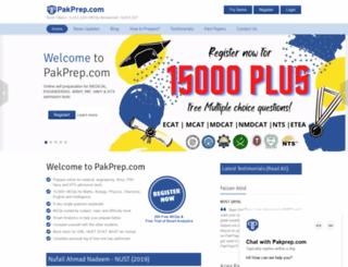 pakprep.com screenshot