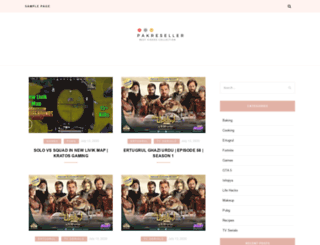 pakreseller.com screenshot