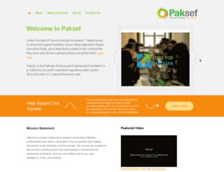 paksef.org screenshot