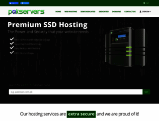 pakservers.com screenshot