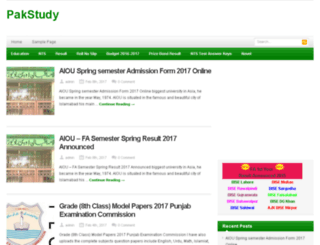 pakstudy.com.pk screenshot
