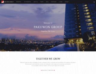 pakuwon.com screenshot