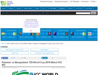 pakvsban.t20worldcup-2016.com screenshot