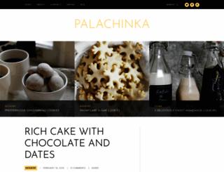 palachinkablog.com screenshot