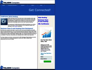 paladincomputer.net screenshot