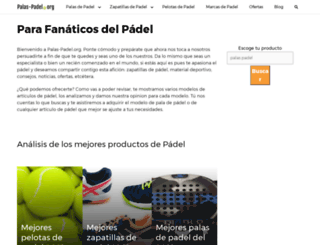 palas-padel.org screenshot