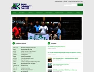palau.edu screenshot