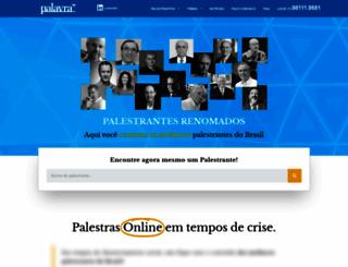 palavra.com screenshot