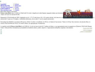 palazzoarietehotel.com screenshot