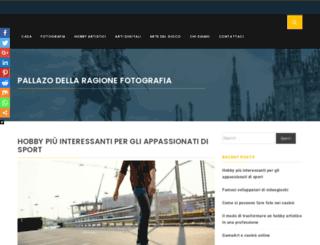 palazzodellaragionefotografia.it screenshot