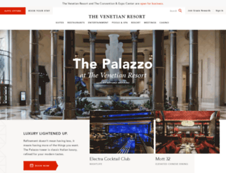 palazzolasvegas.com screenshot