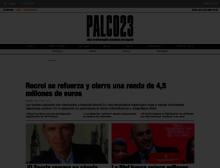 palco23.com screenshot