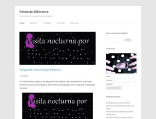 palenciadiferente.com screenshot