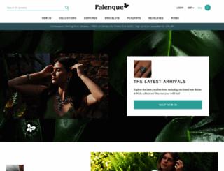 palenquejewellery.co.uk screenshot