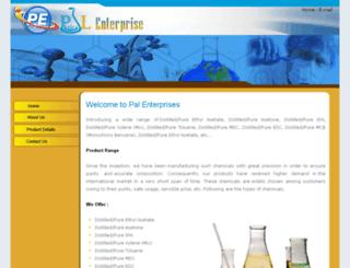 palenterprise.co.in screenshot
