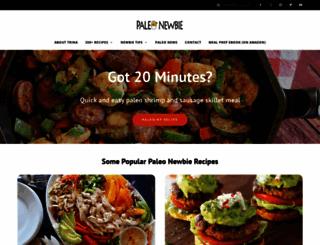 paleonewbie.com screenshot
