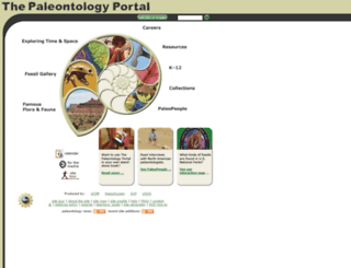 paleoportal.org screenshot