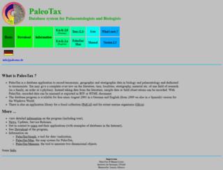 paleotax.de screenshot