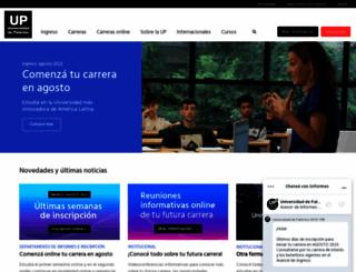 palermo.edu screenshot