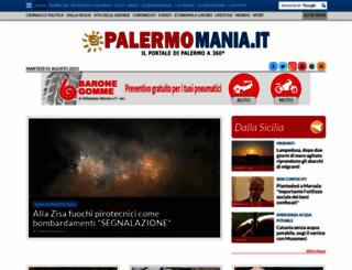 palermomania.it screenshot