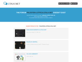 palesten-lotfe14.1talk.net screenshot
