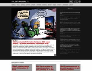 palestinalibre.org screenshot