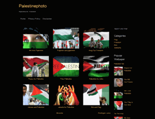 palestinephoto.blogspot.com screenshot