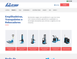 paletrans.com.br screenshot
