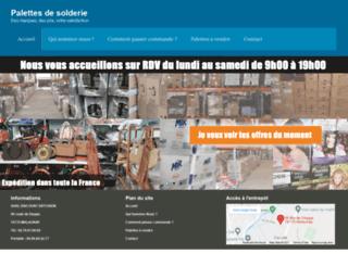 palette-solderie.com screenshot
