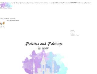 palettesandpairings.com screenshot