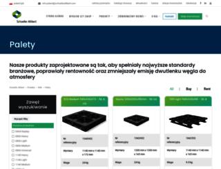 palety-plastikowe.pl screenshot