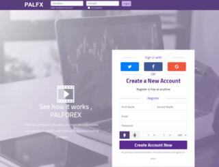palforex.com screenshot