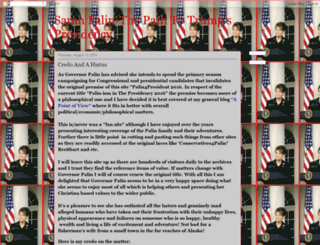 palin4president2016.blogspot.co.nz screenshot