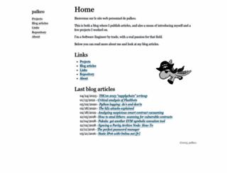 palkeo.com screenshot