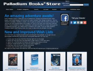 palladium-store.com screenshot