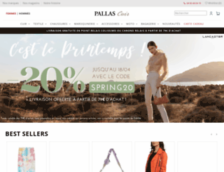 pallascuir.com screenshot