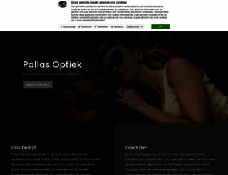 pallasoptiek.nl screenshot