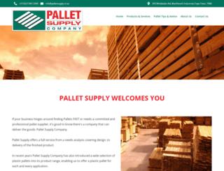 palletsupply.co.za screenshot